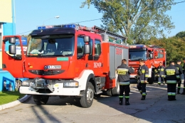 Współpraca MPK z tarnowską Strażą Pożarną