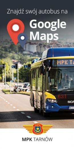 Znajdź swój autobus na Google Maps